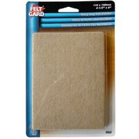 Select Hardware Feltgard Sheets 153mm X 113mm (2 pack)