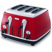 Buy De'Longhi Mica Lite Toaster - Red - Robert Dyas