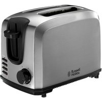 Buy Russell Hobbs 20880 Compact 2-Slice Toaster - Brushed Stainless Steel - Robert Dyas