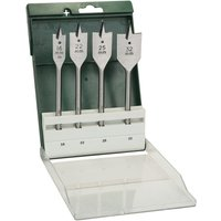 Bosch 4 Piece Flat Wood Drill Bit Set