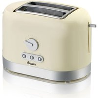 Buy Swan 2 Slice Toaster - Cream - Robert Dyas