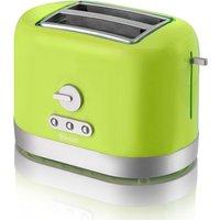 Buy Swan 2 Slice Toaster - Lime - Robert Dyas