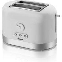 Buy Swan 2 Slice Toaster - White - Robert Dyas
