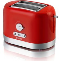Buy Swan 2 Slice Toaster - Red - Robert Dyas