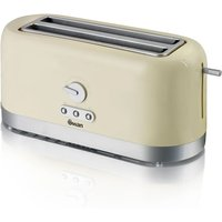 Buy Swan 4 Slice Long Slot Toaster - Cream - Robert Dyas