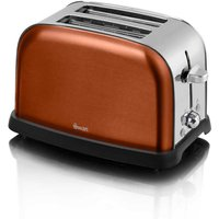 Buy Swan 2 Slice Toaster Metallic - Copper - Robert Dyas