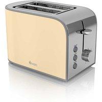 Buy Swan Retro 2 Slice Toaster - Cream - Robert Dyas