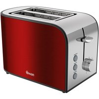 Buy Swan 2 Slice Retro Toaster - Dark Red - Robert Dyas