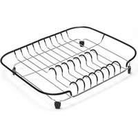 Addis Dish Drainer with Soft-Touch Edges - Black