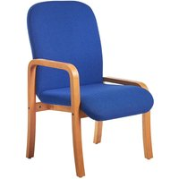 Dams Yealm Right Arm Reception Chair - Blue