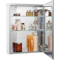 Croydex Langley Single Door Mirrored Cabinet WC101369RD