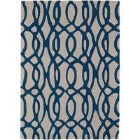 Asiatic Matrix Runner, 240 x 70cm - Blue