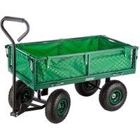 Draper Steel Mesh Garden Cart with Liner