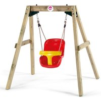 Plum Wooden Baby Swing Set