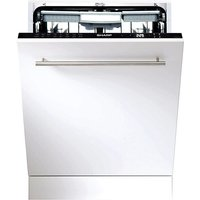 Sharp QW-GD52I472X Built-In Touch-Screen Dishwasher - Black