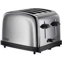 Buy Russell Hobbs 23340 Classic Long-Slot 4-Slice Toaster - Stainless Steel - Robert Dyas