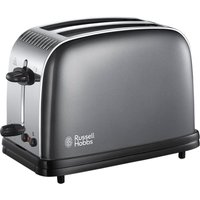 Buy Russell Hobbs 23332 Colours Plus Wide-Slot 2-Slice Toaster - Grey - Robert Dyas