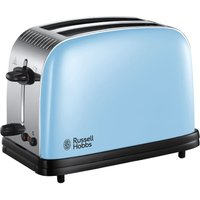 Buy Russell Hobbs 23335 Colours Plus Wide-Slot 2-Slice Toaster - Blue - Robert Dyas