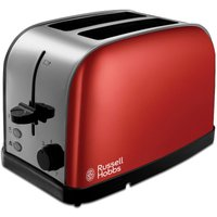 Buy Russell Hobbs 18781 Dorchester 2-Slice Toaster - Red - Robert Dyas