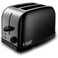 Buy Russell Hobbs 18782 Dorchester 2-Slice Toaster - Black - Robert Dyas
