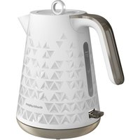 Morphy Richards 1.5L Textured Jug Kettle - White