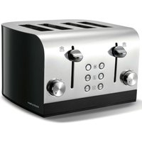 Buy Morphy Richards Equip 4-Slice Toaster - Black - Robert Dyas