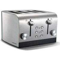 Buy Morphy Richards Equip 4-Slice Toaster - Brushed Steel - Robert Dyas