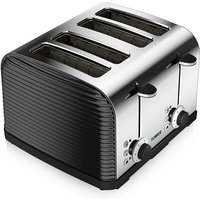 Buy Tower T20008 4-Slice Linear Toaster - Black - Robert Dyas