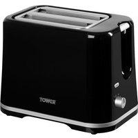 Buy Tower T20009 2-Slice Toaster - Black - Robert Dyas