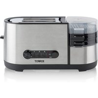 Buy Tower Toaster with Egg Cooker - Robert Dyas