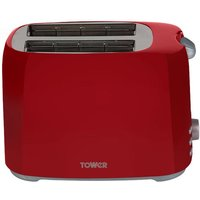 Buy Tower T20013R 2-Slice Toaster - Red - Robert Dyas