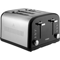 Buy Tower T20015BL 4-Slice Toaster - Black - Robert Dyas