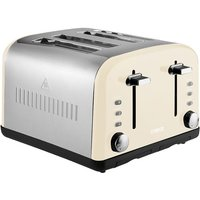 Buy Tower T20015C 4-Slice Toaster - Cream - Robert Dyas