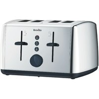 Buy Breville 4-Slice Toaster - Stainless Steel - Robert Dyas