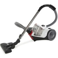 Vax Action Total Home White/Red Cylinder Vacuum Cleaner