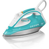 Swan 2200W Steam Iron - Aqua/White