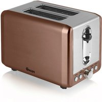 Buy Swan 2-Slice Toaster - Copper - Robert Dyas