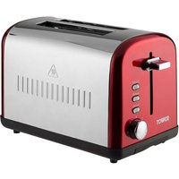 Buy Tower 2-Slice Toaster - Red - Robert Dyas