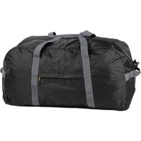 ROCK Members Medium Ultra Lightweight Foldaway Holdall - Black