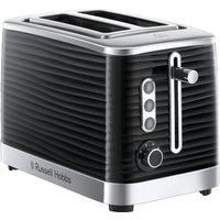 Buy Russell Hobbs Inspire 2-Slice Toaster - Black - Robert Dyas