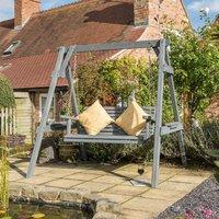 Rowlinson Palermo Garden Swing Seat - Grey