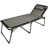 Quest Ragley Pro Lounge Chair with Side Table - Silver/Black