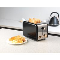 Buy Salter Stylus 2-Slice Toaster - Black - Robert Dyas