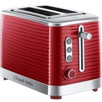 Buy Russel Hobbs Russell Hobbs 24372 Inspire Toaster 2 Slice - Red - Robert Dyas
