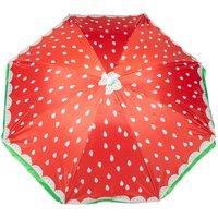 Robert Dyas Beach Parasol - Strawberry