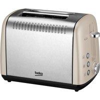 Buy Beko 2 Slice Toaster - Champagne - Robert Dyas