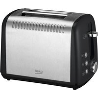 Buy Beko 2 Slice Toaster - Black - Robert Dyas