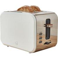 Buy Swan Nordic 2 Slice Toaster - White - Robert Dyas