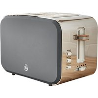 Buy Swan Nordic 2 Slice Toaster - Grey - Robert Dyas