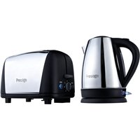 Buy Prestige Breakfast Kettle and Toaster Set - Stainless Steel & Black - Robert Dyas